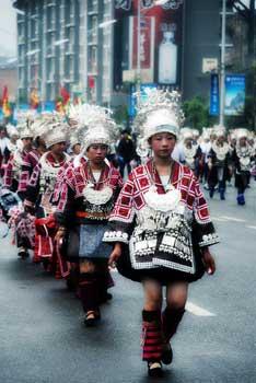 苗族服饰文化中的奇葩