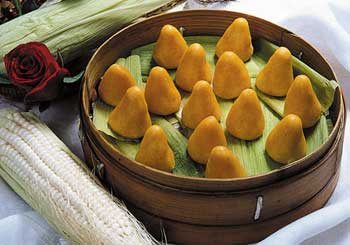 贵州特色小吃-玉米窝窝头_旅游指南_贵州天天
